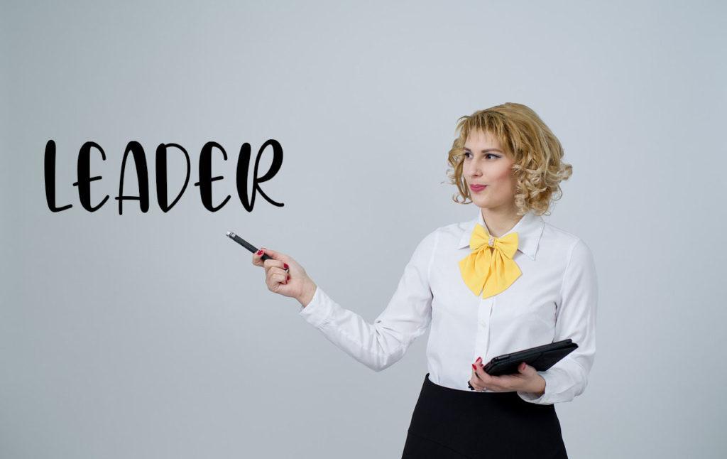 Une leader professionnelle